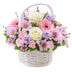 """Цветы в корзинке """"Восторг"""""""